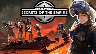 I played Secrets Of The Empire - The Hyper Reality Star Wars VR Game!