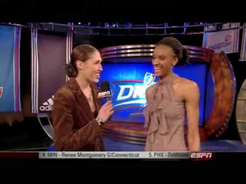 Phoenix Mercury Select DeWanna Bonner #5 in the 2009 WNBA Draft