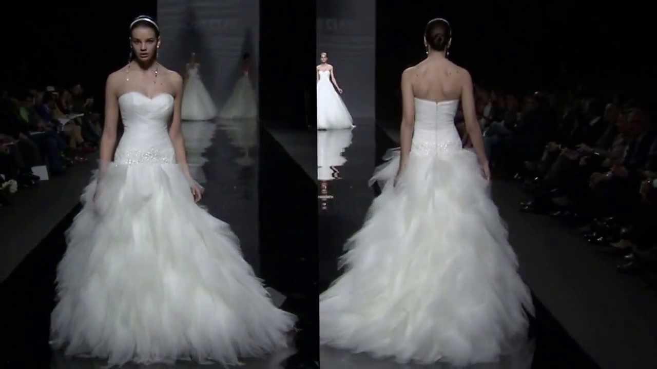Rosa Clará Fashion Show 2014 Collection - YouTube