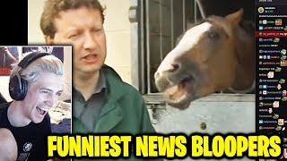 xQc Reacts To Best Animal News Bloopers Compilation 2018 and What if the World Lost All Oxygen?