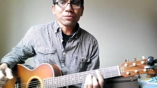 Guitar tutorial for untukmu aku bertahan