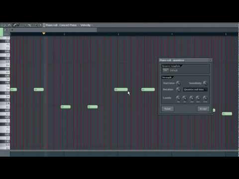 PIANO ROLL PART 1 - FL Studio Tutorial [german / english subtitle]
