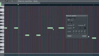 PIANO ROLL PART 1 - FL Studio Tutorial [german / english subtitle]