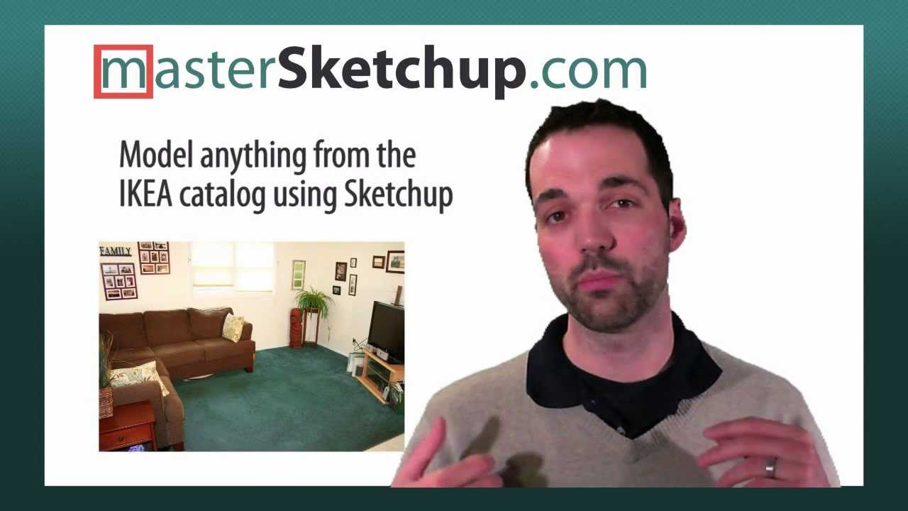 Model Any Ikea Furniture Using Sketchup Youtube