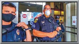 COPS CAUGHT ENFORCING UNENFORCEABLE LAW