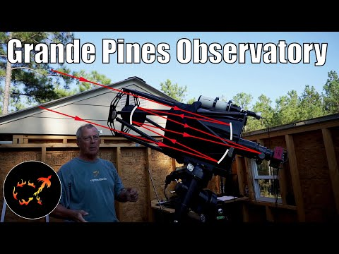 Inside Grande Pines Observatory: Top-of-the-line amateur astronomy
