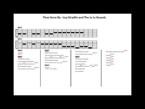 Time Gone By – Izzy Stradlin and the Ju Ju Hounds (Guitar Tab)