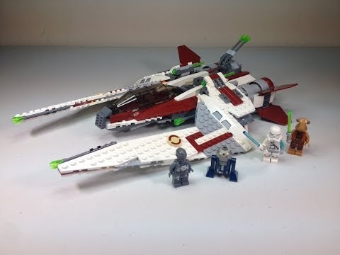 LEGO Star Wars Jedi Scout Fighter Set 75051 Full Review Summer 2014 Wave