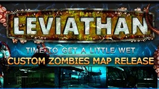 LEVIATHAN UNDERWATER ZOMBIES LIVE! ★ A Prelude to Descent Exo Zombies? (CoD Custom Zombies Map)