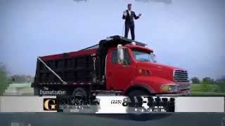 Baton Rouge Injury Lawyer | Big Truck 2014 | Gordon McKernan Injury Attorneys