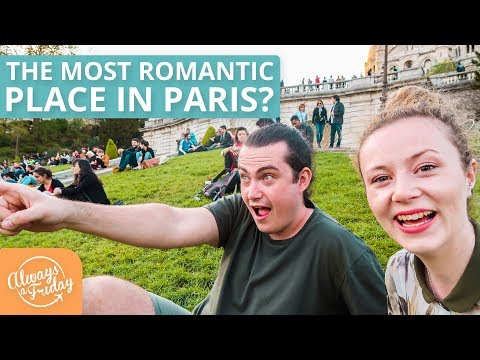 IS THIS THE MOST ROMANTIC PLACE IN PARIS? Montmartre, Sacre Coeur & Food! - PARIS TRAVEL SERIES 2/4