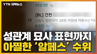 [자막뉴스] 낯뜨거운 변태적 수위...도 넘는 아이돌 '알페스' / YTN