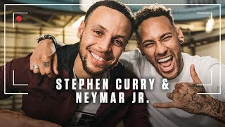 Stephen Curry and Neymar Talk Fatherhood, Messi, Cristiano Ronaldo and What Defines Greatness