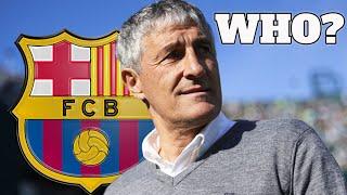 Barcelona Sack Valverde & Appoint Quique Setién As New Manager