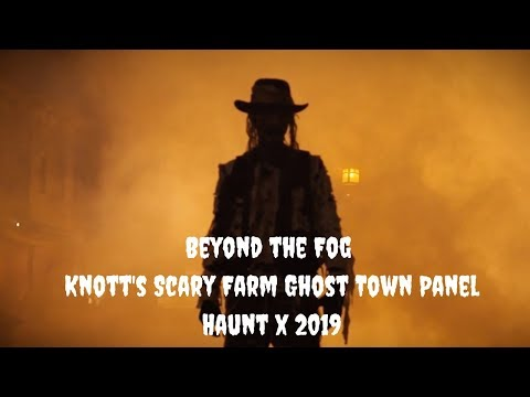 BEYOND THE FOG PANEL | HAUNT X SCARY FARM