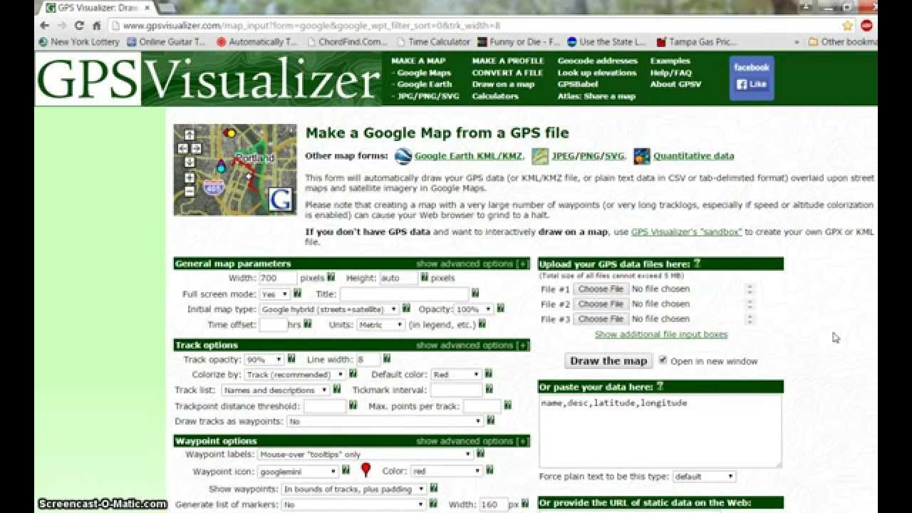 Gps Visualizer Ver