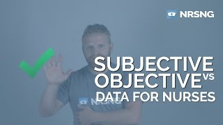 Subjective vs Objective Data for Nurses in 2 Minutes 🏥🤓