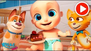 Малыш Джони и Игрушки | Hey Diddle Diddle  Johny Johny Nursery Rhyme на русском