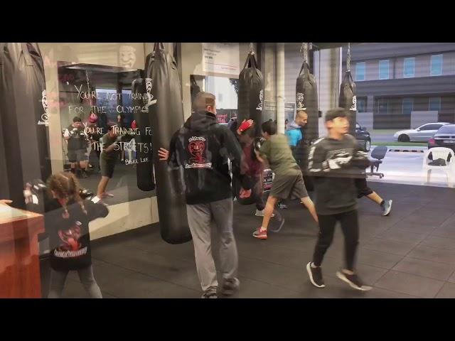 Altona Kickboxing kids classes