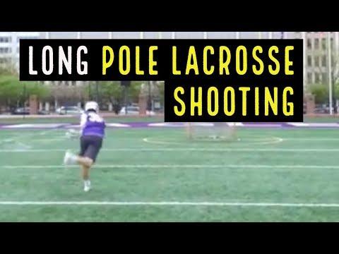 Long Pole Lacrosse Shooting
