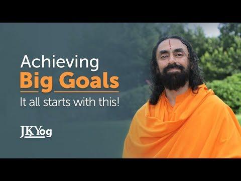 Powerful Motivational Video - Practical Way to Achieving Big Goals | Swami Mukundananda