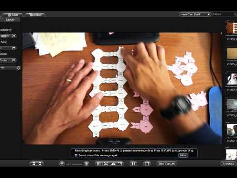 Papercraft DNA and RNA paper model lab directions part 3