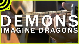 Repeat youtube video Demons - Imagine Dragons (Fingerstyle Guitar Cover by Albert Gyorfi) [+TABS]