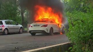 Французские власти направили спецназ в Дижон, где уже несколько дней не прекращаются беспорядки.