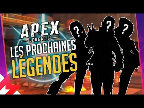Les PROCHAINES LÉGENDES des SAISONS à venir sur APEX LEGENDS