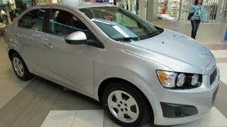 2012 Chevrolet Sonic LT Exterior and Interior - Carrefour Laval, Quebec, Canada