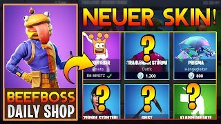 🍔🍅 OMG NEW Beefboss skin today at Fortnite Daily Shop 10.08