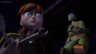 April Yells At Donnie TMNT 2012 S4 E19