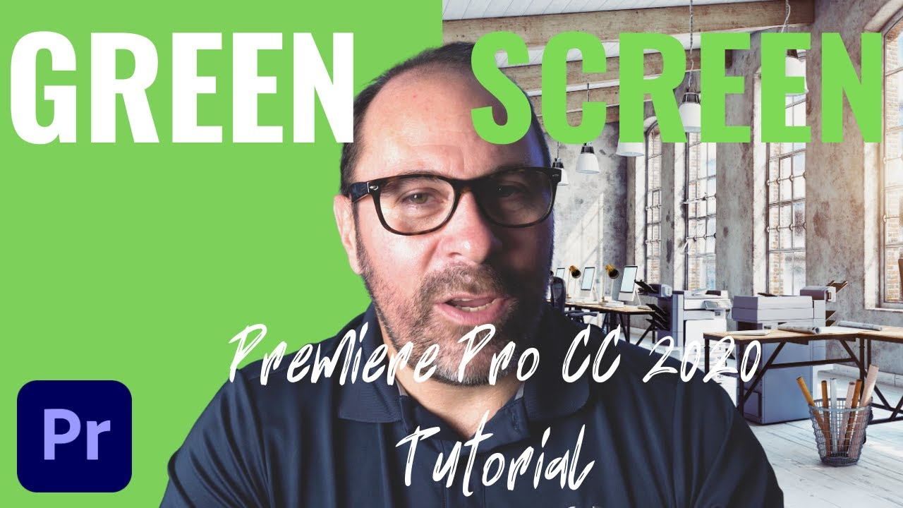 How to edit green screen footage in premiere pro cc 2020   Green Screen Tutorial