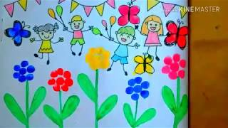For Children S Day Drawing