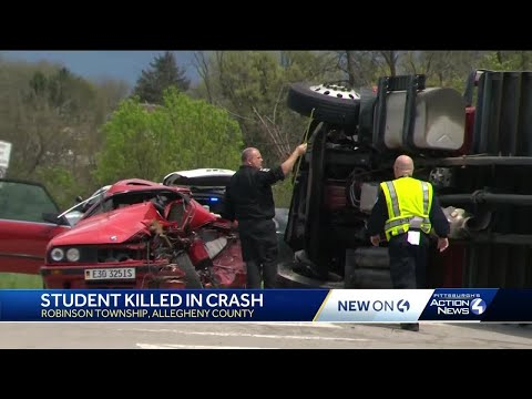 1 Dead In Crash On Steubenville Pike In Robinson Township