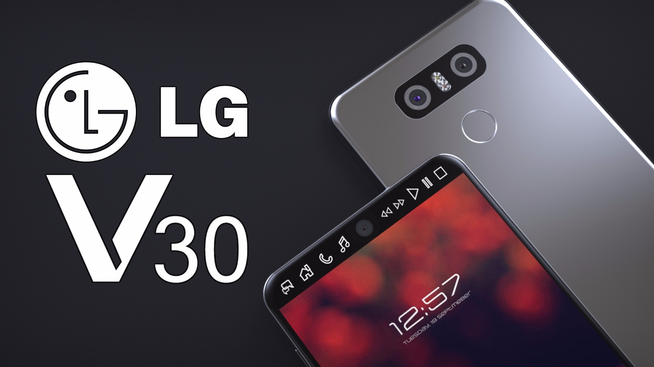 First look at LG V30 shows Full Vision display, new color