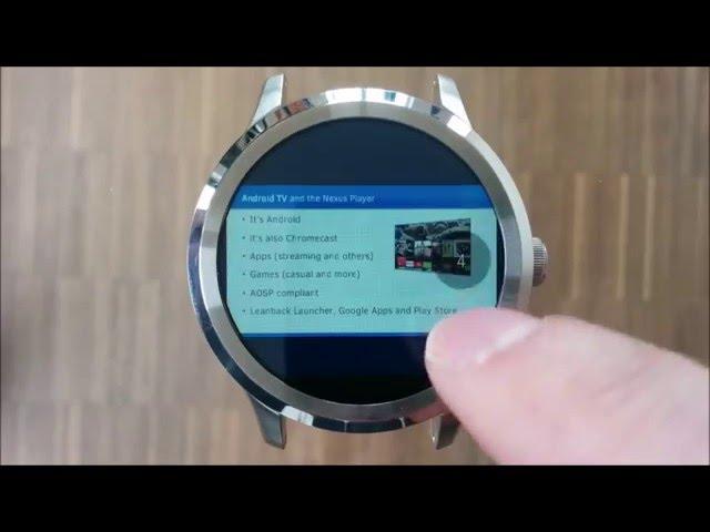 Documents cho Android Wear 1 0 160315 - Ứng dụng đọc tài