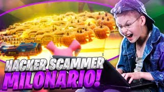 🙀HACKER MILLIONAIRE TRADES ME THE MOST EXCLUSIVE WEAPON OF FORTNITE und ich unterrichte es von SCAMMER