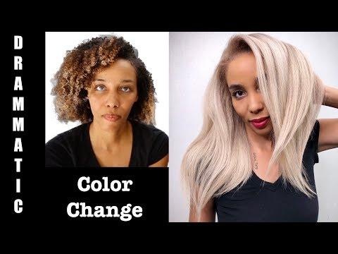 Dramatic Color Change