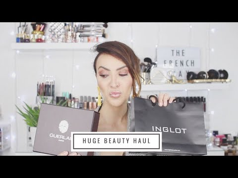 Huge Beauty Haul l Makeup - Soins & More