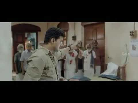 Kaththi Interval fight scene with madura Mikel BGM