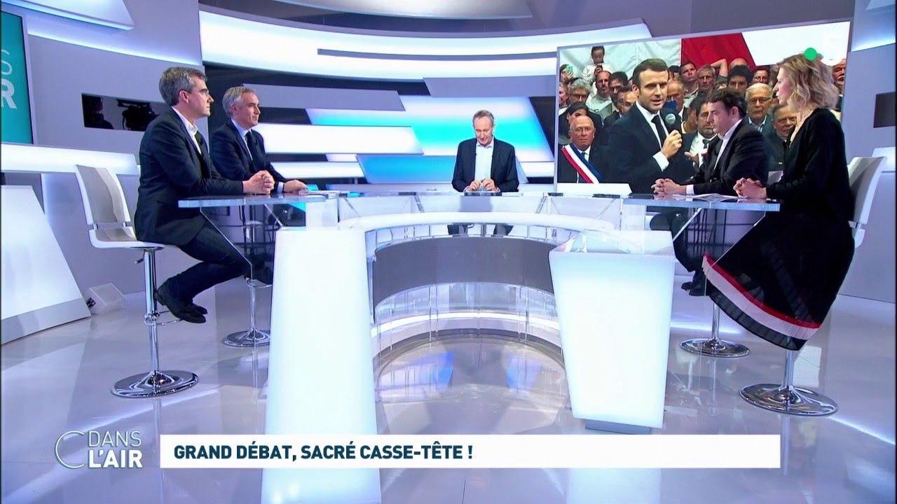 Grand Débat Sacré Casse Tête Cdanslair 09 03 2019 Youtube