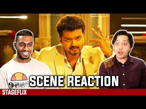 Sarkar Interval Fight Scene Reaction  |Thalapathy Vijay | Top Tucker | Stageflix