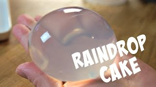 RAINDROP CAKE Recipe Mizu Shingen Mochi - You Made What?! thumbnail