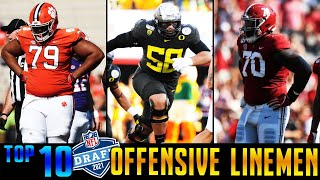 Top 10 Offensive Linemen In The 2021 NFL Draft
