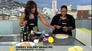 Enterprise: Cheesy Polony Braai Pie (26.09.2012)