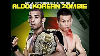 Aldo vs. Korean Zombie [FIGHT HIGHLIGHTS].