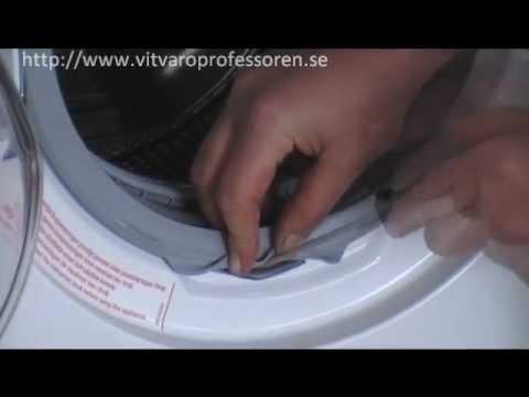 whirlpool tvättmaskin byta lager