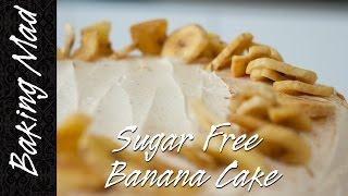 Gluten And Sugar Free Banana Cake Recipe!