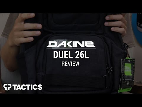 DAKINE Duel 26L 2016 Backpack Review - Tactics.com